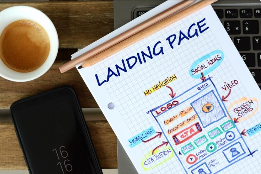 Para que serve a landing page